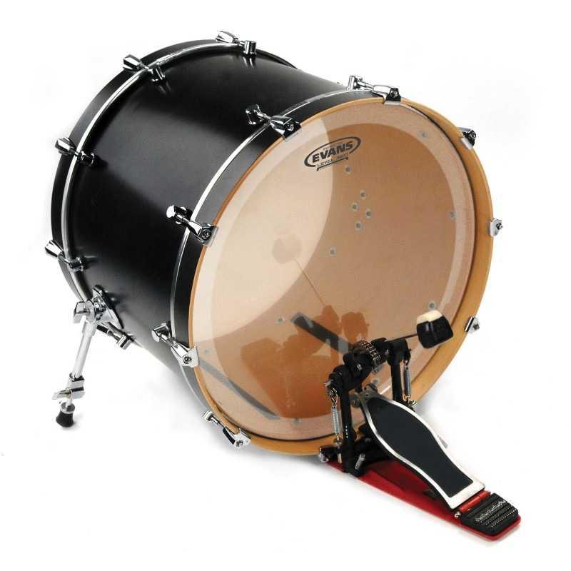 Evans EQ3 Clear Bass Drum Head, 26 Inch