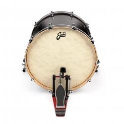 Evans EQ4 Calftone Bass Drum Head, 26 Inch