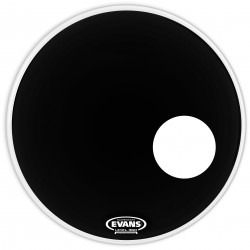 Evans EQ3 Resonant Black Bass Drum Head, 26 Inch