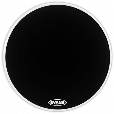 Evans MX2 Black Marching Bass Drum Head, 32 Inch