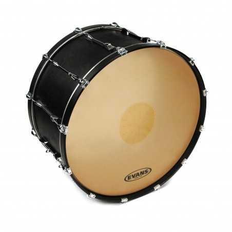 Evans Strata 1400  Power Center Reverse Dot Concert Bass Drum Head, 40 Inch