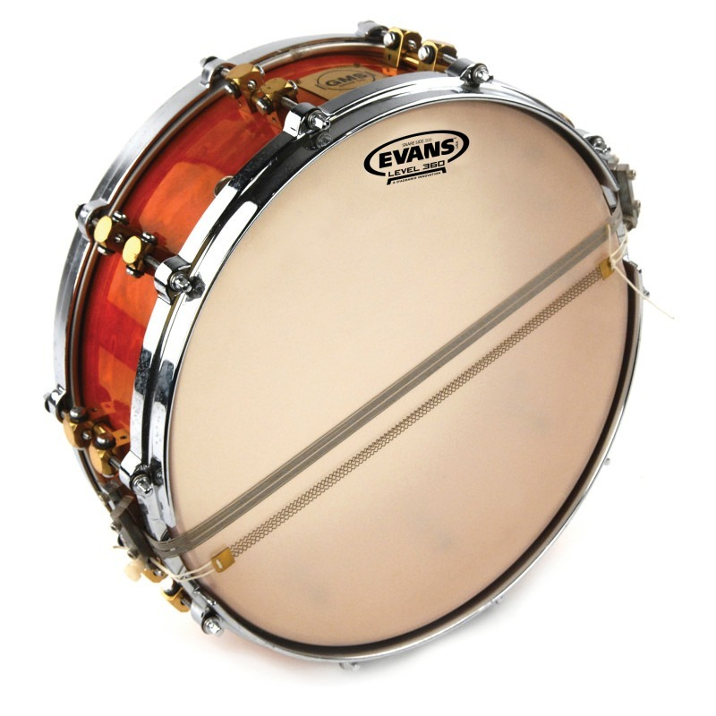 Evans Orchestral 300 Clear Snare Side Drum Head, 14 Inch