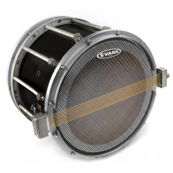 Evans Hybrid Series Marching Snare Side Drum Head, 13 Inch