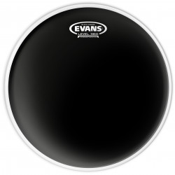 Evans Black Chrome Drum Head, 6 Inch