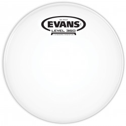 Evans MX Frost Marching Tenor Drum Head, 6 Inch