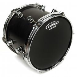 Evans Hydraulic Black Drum Head, 8 Inch