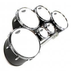 Evans MX White Marching Tenor Drum Head, 8 Inch