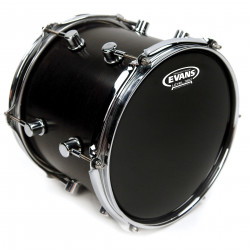 Evans Resonant Black Drum Head, 8 Inch