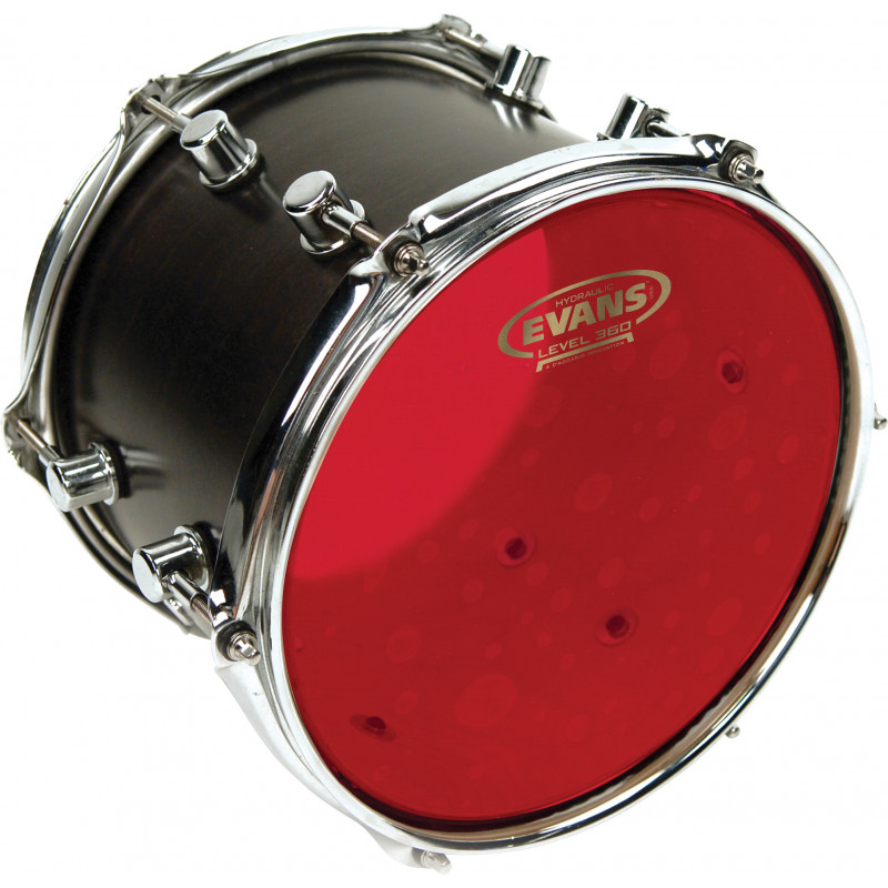 Evans Hydraulic Red Drum Head, 10 Inch