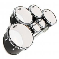 Evans MX Frost Marching Tenor Drum Head, 10 Inch