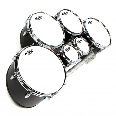 Evans MX White Marching Tenor Drum Head, 10 Inch