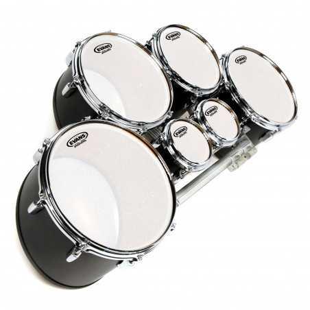 Evans MX Frost Marching Tenor Drum Head, 12 Inch