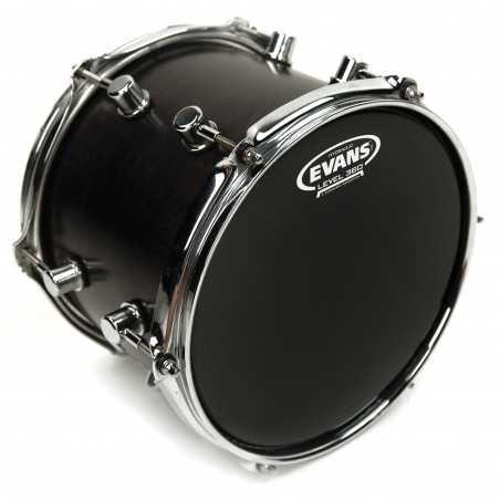 Evans Hydraulic Black Drum Head, 18 Inch