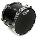 Evans Hydraulic Black Drum Head, 20 Inch