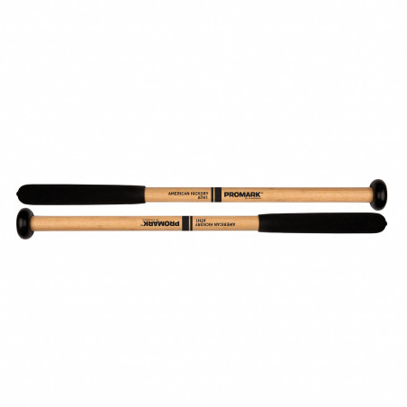 ProMark ATH1 Hickory Shaft Nylon Cookie Head Tenor Mallet