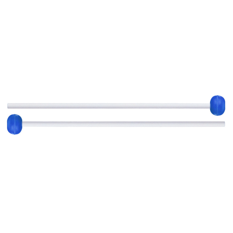 ProMark Discovery Series FPR20 Medium Blue Rubber Orff Mallet