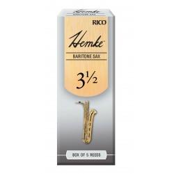 Hemke Baritone Sax Reeds, Strength 3.5, 5-pack
