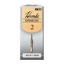 Hemke Soprano Sax Reeds, Strength 2.0, 5-pack