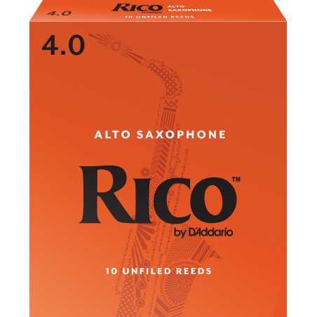 Rico by D'Addario Alto Sax Reeds, Strength 4, 10-pack