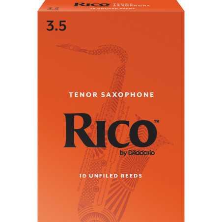 Rico Tenor Sax Reeds, Strength 3.5, 10-pack
