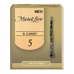 Mitchell Lurie Bb Clarinet Reeds, Strength 5.0, 10-pack