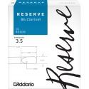D'Addario Reserve Bb Clarinet Reeds, Strength 3.5, 10-pack
