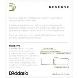 D'Addario Reserve Alto Saxophone Reeds, Strength 3.5, 10-pack