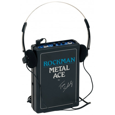 Dunlop ROCK-BA Rockman Bass Ace Bass Guitar Headphone Amplifier