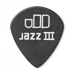 Médiator Guitare Tortex® Pitch Black Jazz III de 1,0 mm