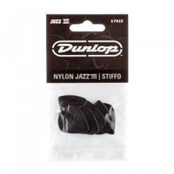 Black Stiffo Nylon Jazz III Guitar Pick