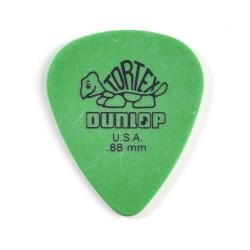Green 0.88mm Tortex® Standard Guitar Pick (12/bag)