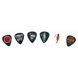 Lucky 13 Picks, Assorties, 1.0mm, 6 / Pack de Joueurs