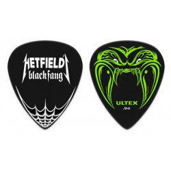 Hetfield Black Fang Guitare Picks 0.94mm (6 Pieces)