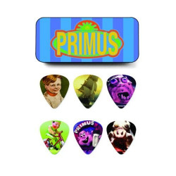 Primus Pick Tin, Assorted, Heavy 6 Picks/Tin