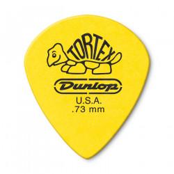 Médiator Guitare Jaune Tortex® Jazz III Xl de 0,73 mm (12/Pack)