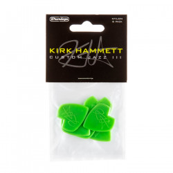 Kirk Hammett Jazz III Guitar Pick (6/pack)