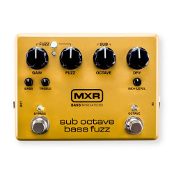 MXR® Sub Octave Bass Fuzz