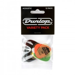 Acoustic Guitar Pick Variety Pack (12/pack)