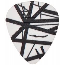 Eddie Van Halen, Picks de Guitare Noir et Blanc