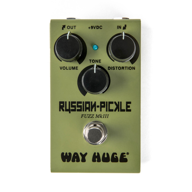 Façon Énorme Pickle Russe Smalls Mini Fuzz Guitare Pédale d'effet