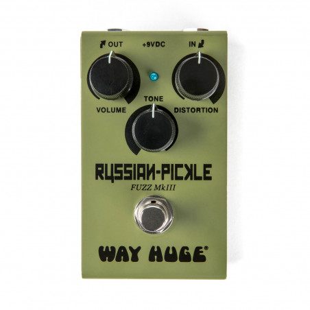 Dunlop WM42 Way Huge Russian Pickle Smalls Mini Fuzz Guitar Effect Pedal
