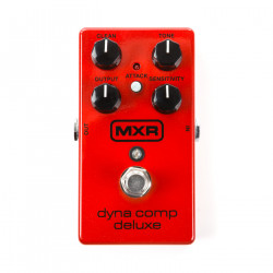 MXR Dyna Comp Deluxe Compressor Guitar Effect Pedal - Red