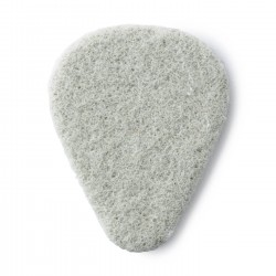 White Beveled Felt Pick 3/Bag