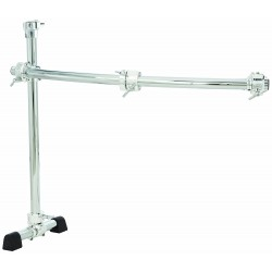 Chrome Series 40-Inch Curved Rack Side with Quick Release T Clamps & RMAAs