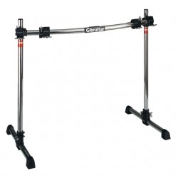 Road Series 40C Curved Front Rack with Fix T Legs, RS Black Clamps