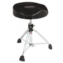 Oversized Round Seat Web Top Drum Throne