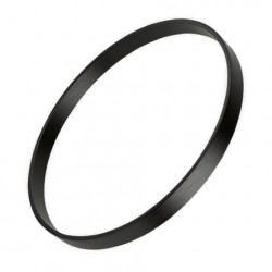 """20"""" Black Lacquer Bass Drum Hoop"""