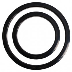 Port Hole Protector 4-Inch - Black Finish