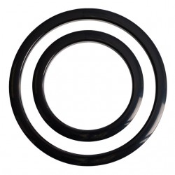 Port Hole Protector 6-Inch - Black Finish