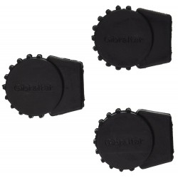 Sm Round Rubber Feet 3Pack